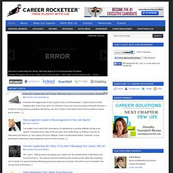 Career Rocketeer | The Career Search and Personal Branding Blog