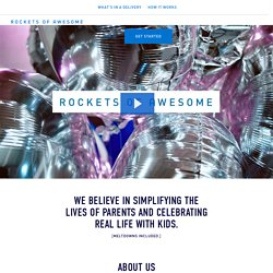 Rockets of Awesome - About Us