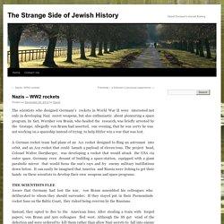 The Strange Side of Jewish History