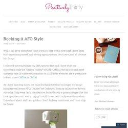 Rocking it AFO Style
