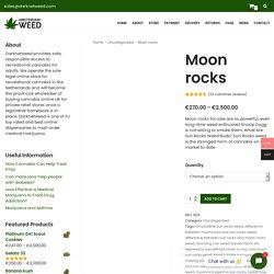 Order moon rocks online from Darknetweed