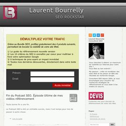 SEO ROCKSTAR | Laurent Bourrelly