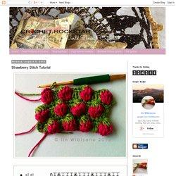 crochet rockstar: Strawberry Stitch Tutorial