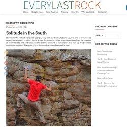 Rocktown Bouldering Guide