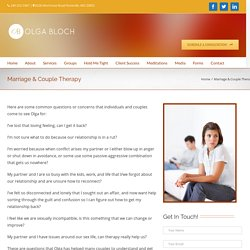 Marriage Therapy Rockville