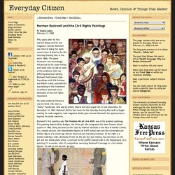 Norman Rockwell and the Civil Rights Paintings | Everyday Citizen