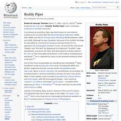 Roddy Piper - Wikipedia