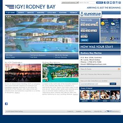 IGY Rodney Bay Marina » An Island Global Yachting Marina