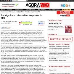 Rodrigo Rato : chute d'un ex-patron du FMI