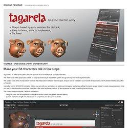 Rodrigo Pegorari » Archive » Tagarela – Open Source Lip Sync System for Unity - Mozilla FireFox for eBuro