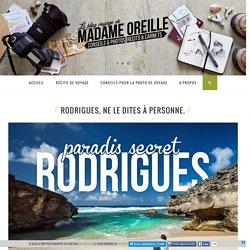 Rodrigues, ne le dites à personne.