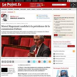 Marcel Rogemont candidat à la présidence de la commission Culture