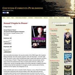 F. Roger Devlin, Sexual Utopia in Power | Counter-Currents Publishing
