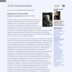 Roger-Pol Droit (dir.) : Figures de l'altérité