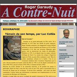 Bio Roger Garaudy