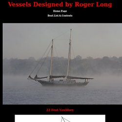 Roger Long Boat Designs