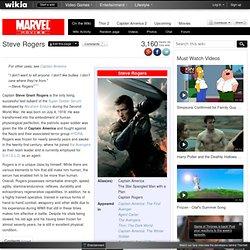 Steve Rogers - Marvel Movies Wiki - Wolverine, Iron Man 2, Thor