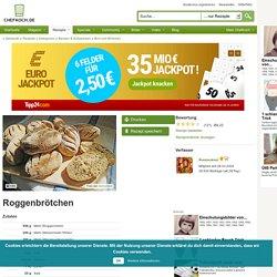 Roggenbrötchen (Rezept mit Bild) von Rosinenkind