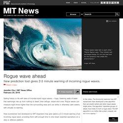 Rogue wave ahead