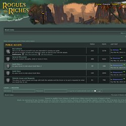 Rogues To Riches Guild