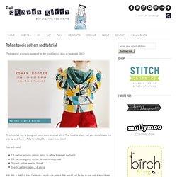 Rohan hoodie pattern and tutorial