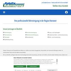 Rohr reinigen lassen in Hannover