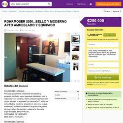 ROHRMOSER $550...BELLO Y MODERNO APTO AMUEBLADO Y EQUIPADO - San José