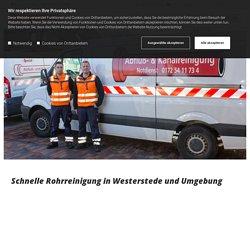 Rohrreinigung bei Westerstede