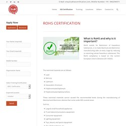 Rohs Certification Germany