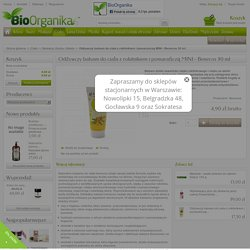 Odżywczy balsam do ciała z rokitnikiem i pomarańczą MINI - Benecos 30 ml - Kosmetyki Naturalne BioOrganika.pl - Piękno tkwi w naturze!