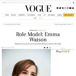 Role Model: Emma Watson