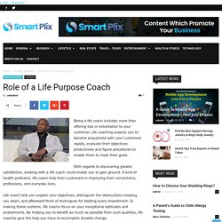 Role of a Life Purpose Coach -