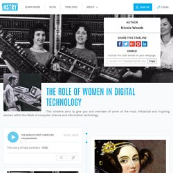 The role of women In Digital Technology