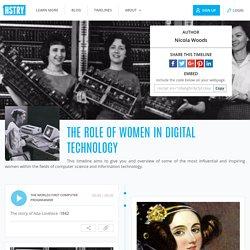 The role of women In Digital Technology