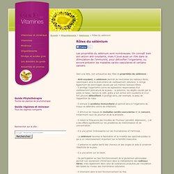 Rôles du sélénium / Guide Vitamine