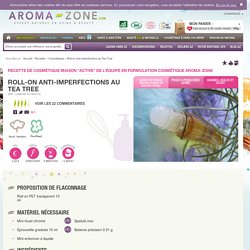 Roll-on anti-imperfections au Tea Tree