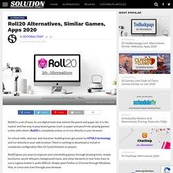 Roll20 Alternatives, Similar Games, Apps 2020