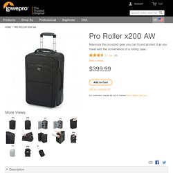 Pro Roller x200 AW Camera bags, backpacks and rolling cases