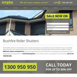 Roller Shutters Sydney - Empire Window Furnishings