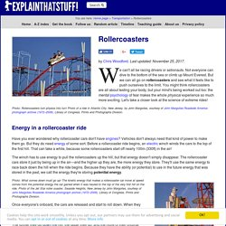 Science of rollercoasters