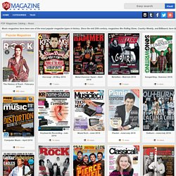Music - Rolling Stone, Country Weekly, Billboard, etc - PDF Magazines