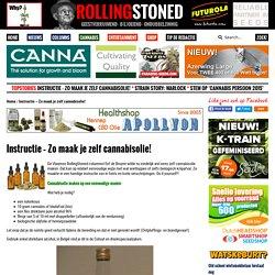 Instructie - Zo maak je zelf cannabisolie! - RollingStoned.nlRollingStoned.nl