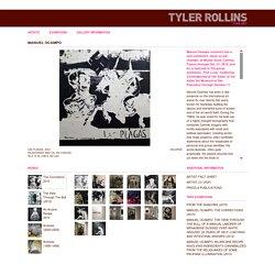 Tyler Rollins Fine Art - Artists - Manuel Ocampo