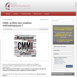 CMMi, la Rolls des modèles méthodologiques ?