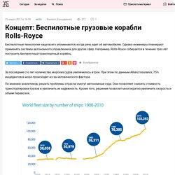 Концепт: Беспилотные грузовые корабли Rolls-Royce
