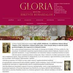 Rólunk – Gloria esküvői ruhaszalon
