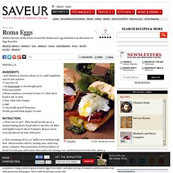 Roma Eggs Recipe