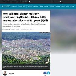 WWF varoittaa: Eläinten määrä on romahtanut hälyttävästi – tällä vauhdilla monista lajeista kohta enää rippeet jäljellä