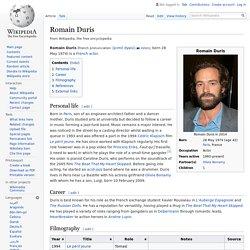 Romain Duris - Wikipedia