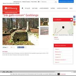 """Site gallo-romain"" Goeblange"